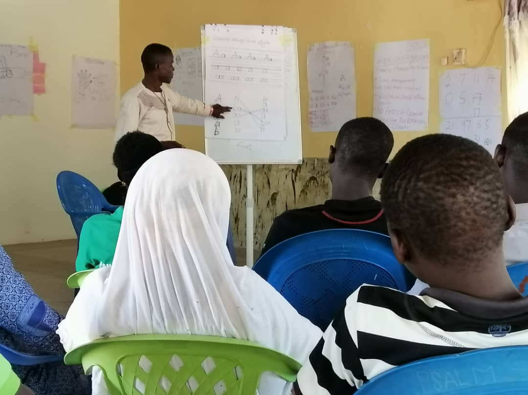 Training of community facilitators using STAGE teaching and learning materials.