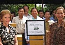 Laos Trips to the Field with Grapes for Humanity