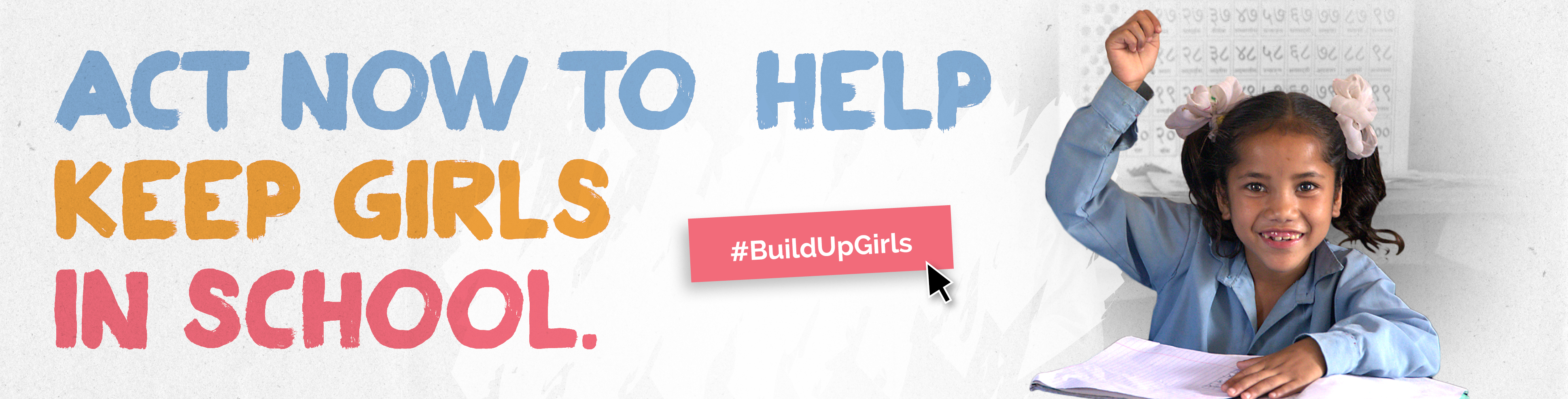 Act now to help keep girls in school