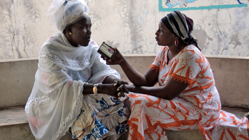 Women are contributing to peace in the Casamance through radio programs in Senegal