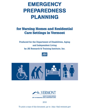 Emergency Preparedness Planning for Nursing Homes and Residential Care Settings in Vermont