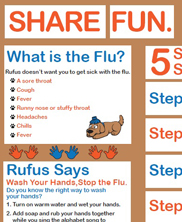 NH Immunization Program - K-8. Share Fun. Not the Flu.
