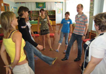 """Ukraine: """"Sustainable sex education for orphaned youth"""""""