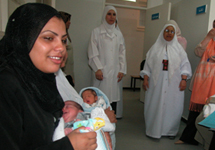 View details: Improving infant and maternal care in the West Bank