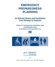 View details: Emergency Preparedness Planning for Nursing Homes and Residential Care Settings in Vermont