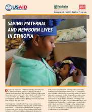 View details: Saving Maternal and Newborn Lives in Ethiopia