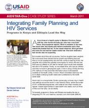 View details: Integrating Family Planning and HIV Services