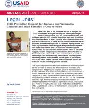 View details: Case Study: Legal Units - Child Protection Support in Côte d'Ivoire