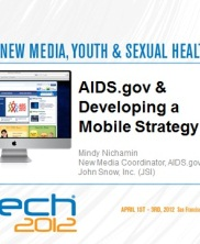 View details: AIDS.gov and Developing a Mobile Strategy