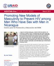 View details: Case Study: Promoting New Models of Masculinity to Prevent HIV among MSM in Nicaragua