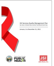 View details: HIV Services Quality Management Plan: San Jose, CA TGA (Santa Clara County)