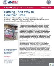 View details: Earning Their Way to Healthier Lives: Women First in Mozambique