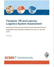 View details: Tanzania: TB and Leprosy Logistics System Assessment
