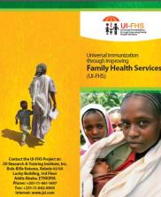 View details: Universal Immunization through Improving Family Health Services (UI-FHS) brochure
