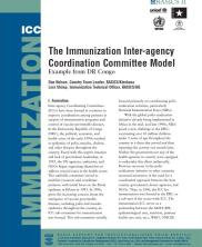 View details: The Immunization Inter-Agency Coordination Committee Model - Example from DR Congo