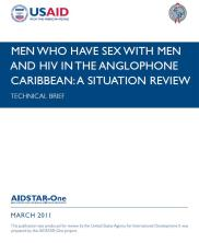 View details: Technical Brief: MSM & HIV in the Anglophone Caribbean - A Situation Review