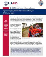 View details: NuPITA Case Study: Implementing Early Childhood Development Strategies & Addressing Stigma