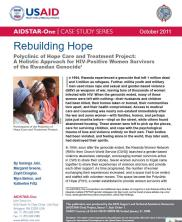 View details: Rebuilding Hope: Polyclinic of Hope Care and Treatment Project, Rwanda