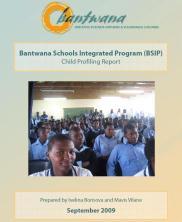 View details: Bantwana Schools Integrated Program (BSIP) Child Profiling Report