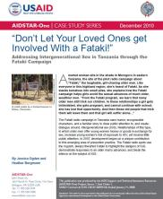 View details: AIDSTAR-One Case Study: The Fataki Campaign