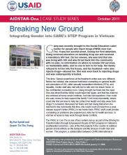 View details: Breaking New Ground: Integrating Gender into CARE's STEP Program in Vietnam