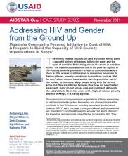 View details: Addressing HIV and Gender from the Ground Up in Kenya