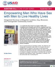 View details: Case Study: Empowering Men Who Have Sex with Men to Live Healthy Lives in Colombia