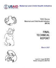 Russia Maternal and Child Health Intitiative final report