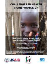 View details: Challenges in Health Transformation: Final Report of the Sudan Health Transformation Project (SHTP)