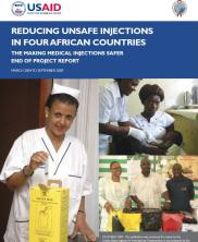 View details: Reducing Unsafe Injections in Four African Countries: The Making Medical Injections Safer End of Project Report