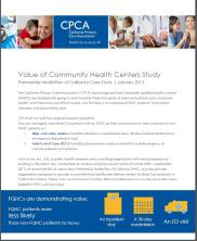 Value of CHCs CPCA Case Study 2013
