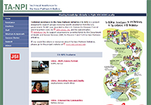 Thumbnail of the tanpi.jsi.com/index.htm home page