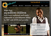 Thumbnail of the bantwana.org home page