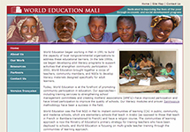 Thumbnail of the mali.worlded.org home page