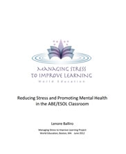 View details: Reducing Stress and Promoting Mental Health in the ABE/ESOL Classroom
