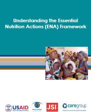 View details: Understanding the Essential Nutrition Actions (ENA) Framework