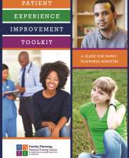 View details: Patient Experience Improvement Toolkit: A Guide for Family Planning Agencies
