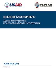 View details: Gender Assessment: Access to HIV Services by Key Populations in Kyrgyzstan