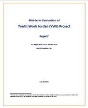 View details: Mid-term Evaluation of the Youth Development Program in Jordan
