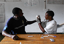 View details: Village health workers treat malaria in Zimbabwe