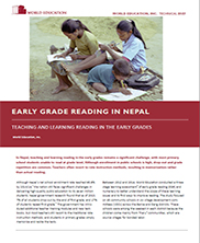 View details: Early Grade Reading in Nepal