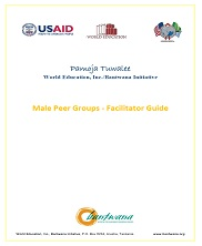 View details: Male Peer Groups Facilitator Guide