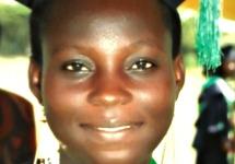 Small Article Photo: Ambassadors' Girls' Scholarship Program graduate Barikisu