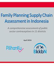 View details: Family Planning Supply Chain Assessment in Indonesia