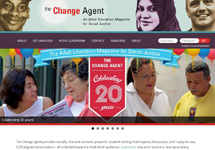 Thumbnail of the changeagent.nelrc.org home page