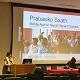 Roopshree Joshi speaking at Boston University