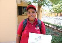 Mariam - a Tanzanian community case worker