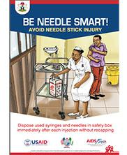View details: Be Needle Smart poster
