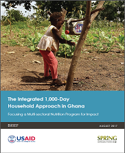View details: SPRING: The Integrated 1,000-Day Household Approach in Ghana