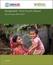 View details: SPRING/Bangladesh Final Country Report